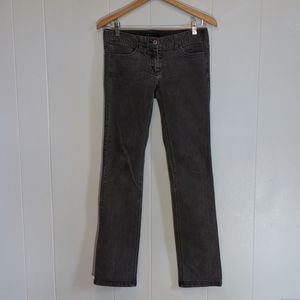Theory Grey Straight Legged Jeans